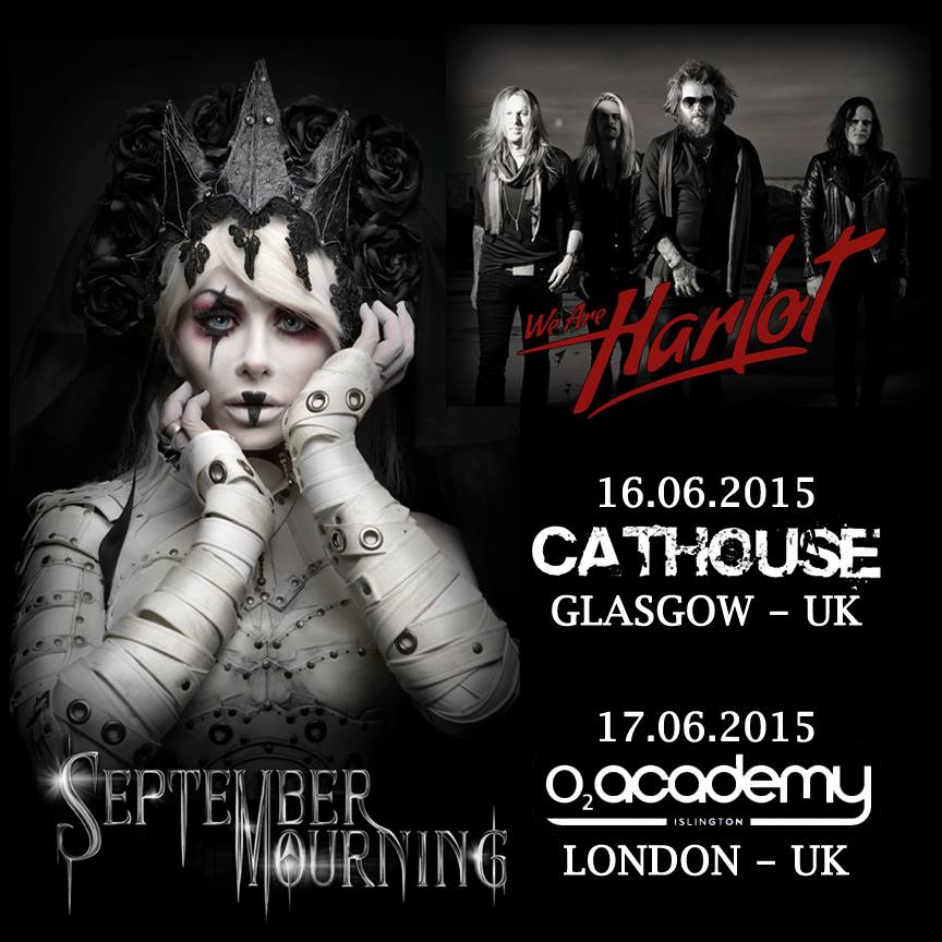 September Mourning UK Live